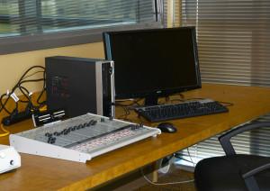 small radio studio